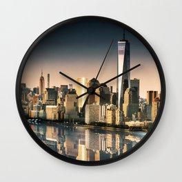 world trade center Wall Clock