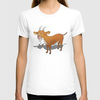 goat T-shirts featuring Goat by mailboxdisco