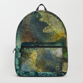 Abundance in blue Backpack