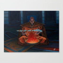 Holy Blessing Canvas Print