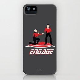 Long Trek to Forever iPhone Case