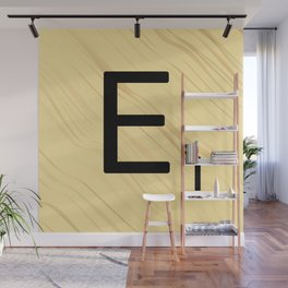 Scrabble E Decor, Scrabble Art, Large Scrabble Prints, Word Art, Accessories, Apparel, Home Decor Wall Mural