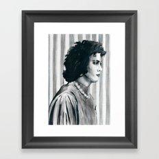 Transvestite Framed Art Print
