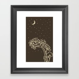 Under the Moon Framed Art Print