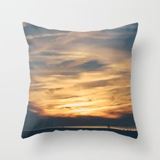 Cape Sunsets Throw Pillow