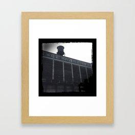 Van Horne Warehouse II Framed Art Print