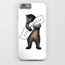 i love you california iPhone Case
