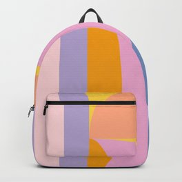 Pink and Lavender 01 Backpack