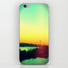 sunset in NYC iPhone & iPod Skin