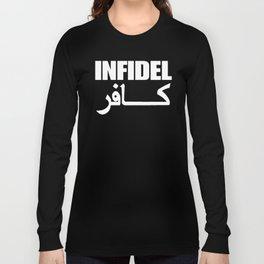 Infidel Sanscript Long Sleeve T-shirt