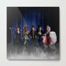 Queens of Darkness - 5 Queens Metal Print
