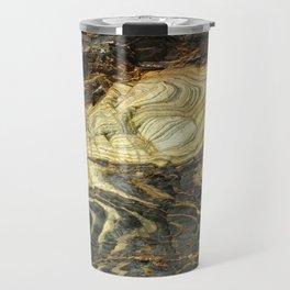 Artistic Natural Stonework Travel Mug