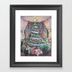 Christmas Morn Framed Art Print