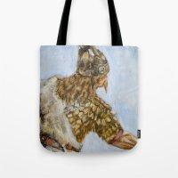 viking Tote Bags featuring Viking by VAWART