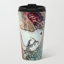 Sepia birdie Travel Mug