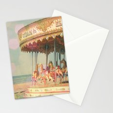 Circling Horses Stationery Cards