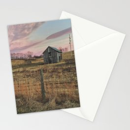 Winter Sunset in Sperryville, VA Stationery Cards
