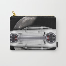 American cars - Legendary White Mustang Carry-All Pouch