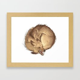 -test2- Framed Art Print
