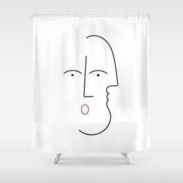 Duplex Shower Curtain