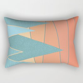 Sunset II Rectangular Pillow