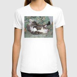 Kitty's Lazy Days T-shirt