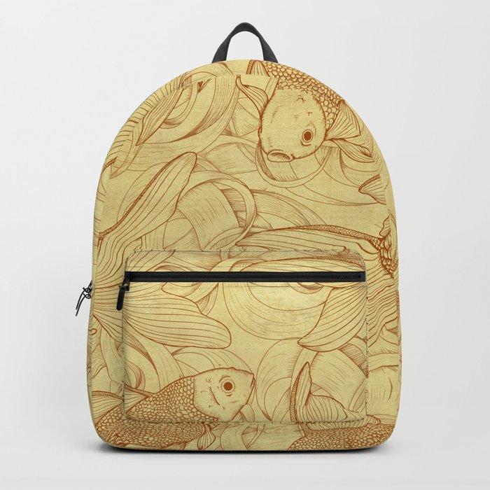 Vintage Goldfishes II Backpack