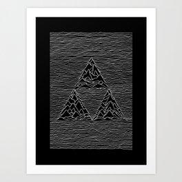Triforce // Joy Division Art Print