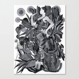 Dream Leotard Canvas Print