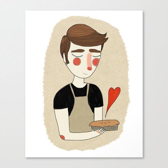 The Piemaker Canvas Print