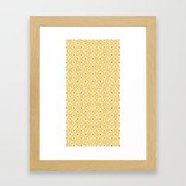 Sunny Notan Framed Art Print