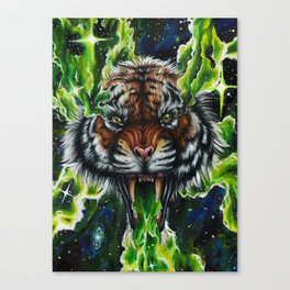 King of the Universe Canvas Print