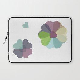 Heartflowers1 Laptop Sleeve