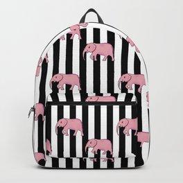 stripes and elephants Backpack