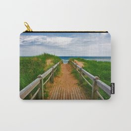 PEI Beach Boardwalk Carry-All Pouch