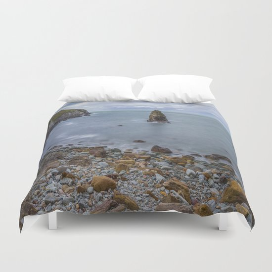 Peace Be With You Duvet Cover