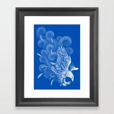 Windy Wings Framed Art Print