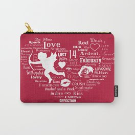 The Red Heart Carry-All Pouch