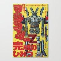 manga Canvas Prints featuring Manga 01 by Zuno