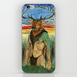 Herne the Hunter iPhone Skin