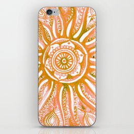 Bright Dial iPhone Skin