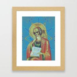 Iconography Lord Pop Renaissance Framed Art Print