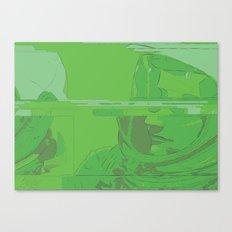 Green Armstrong Canvas Print