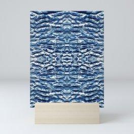 Shiso Shibori Satin Mini Art Print