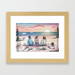Living the Dream Framed Art Print