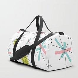 Atomic print Duffle Bag