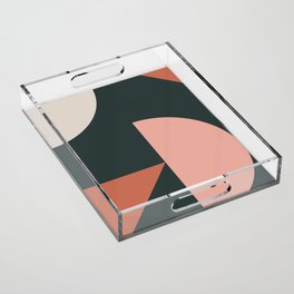 Orbit 04 Modern Geometric Acrylic Tray