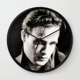 Marlon Brando, Vintage Actor Wall Clock