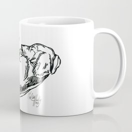 Sleeping Dachshund Coffee Mug