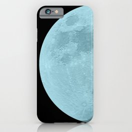 BLUE MOON // BLACK SKY iPhone Case